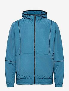 NB CLASSIC CORE FASHION WINDBREAKER JACKET - veste sport - navy/light blue