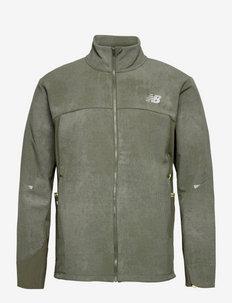 Reflective Impact Run Winter Jacket - training jackets - norway spruce