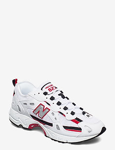 ML827AAB - lave sneakers - white/team red