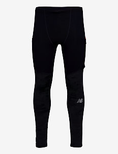 REFLECTIVE IMPACT RUN HEAT TIGHT - collants d'entraînement - navy/reflect