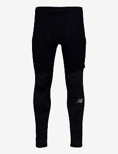 REFLECTIVE IMPACT RUN HEAT TIGHT - running & training tights - navy/reflect