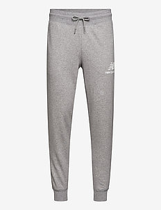 ESSENTIALS STACKED LOGO SWEATPANT - pants - athletic grey