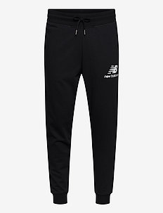 ESSENTIALS STACKED LOGO SWEATPANT - bukser - black