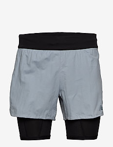 Q SPEED 5IN 2 IN 1 SHORT - training shorts - lhtslate