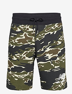 Essentials Stacked Short AOP - casual shorts - black multi