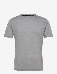Impact Run Short Sleeve - t-shirts - athletic grey