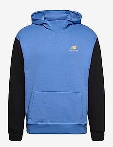 NB ATHLETICS VILLAGE FLEECE PULLOVER - basic sweatshirts - faded cobalt