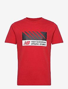 NB ATHLETICS VILLAGE TEE - sportstopper - team red