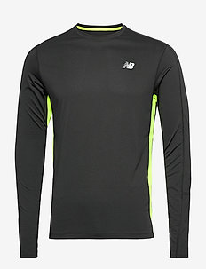 ACCLERATE LS - longsleeved tops - black/hi lite