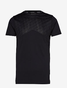 NBST CORE POLY TEE - BLACK