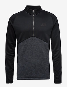 NBST CORE KNIT DRILL TOP - BLACK