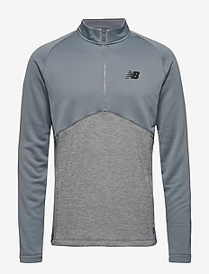 NBST CORE KNIT DRILL TOP - GUNMETAL