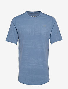 Q SPEED BREATHE SHORT SLEEVE - CHAMBRAY