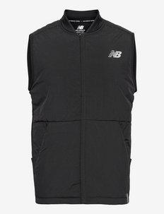 Impact Run Grid Back Vest - training jackets - black