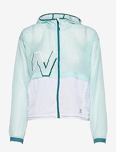 Printed Impact Run Light Pack Jacket - vestes d'entraînement - pale blue chill
