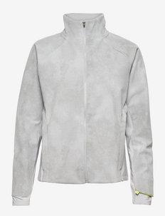 Reflective Impact Run Winter Jacket - training jackets - whisper grey