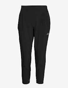 Q SPEED RUN CREW PANT - treenihousut - black