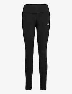 IMPACT RUN TIGHT WITHOUT MESH - løpe- og treningstights - black