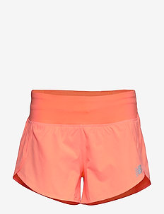 IMPACT RUN SHORT 3 IN - GINGPINK