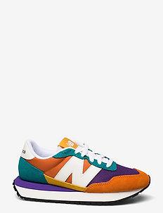 WS237PK1 - chunky sneakers - vintage orange