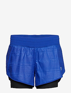 PRINTED IMPACT SHORT 4 IN - UVBLUE