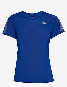 IMPACT RUN SS - t-shirty - marinblu