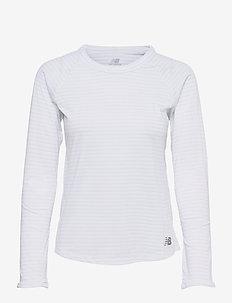 Q SPEED SEASONLESS LS - bluzki termoaktywne - white multi