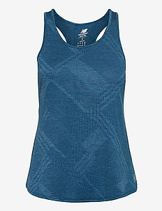 Q SPEED FUEL JACQUARD TANK - linnen - roguewvh