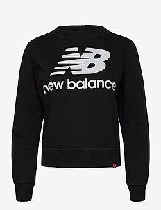 ESSENTIALS CREW - sweatshirts - black