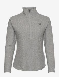Sport Spacedye Half Zip - sweats et sweats à capuche - athletic grey