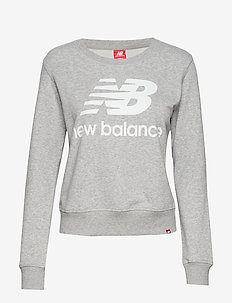ESSENTIALS CREW - sweatshirts - athletic gre