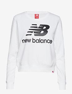ESSENTIALS CREW - sweatshirts - white black