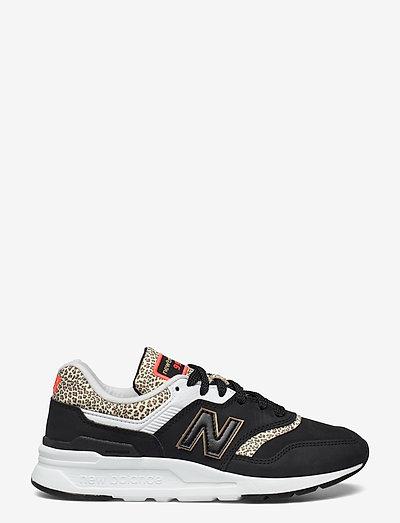 CW997HPY - low top sneakers - black/white