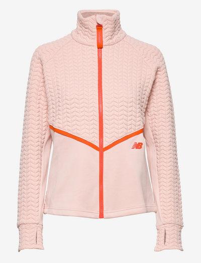 NBHeat Loft Athletic Jacket - outdoor & rain jackets - oyster pink