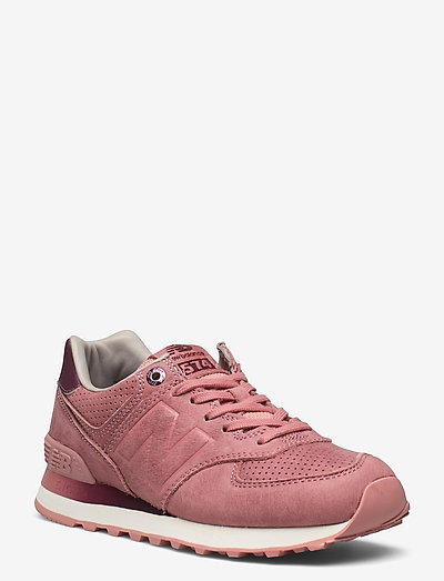 WL574GRY - low top sneakers - dusted peach