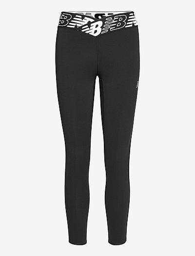 Relentless High Rise 7/8 Tight - running & training tights - black
