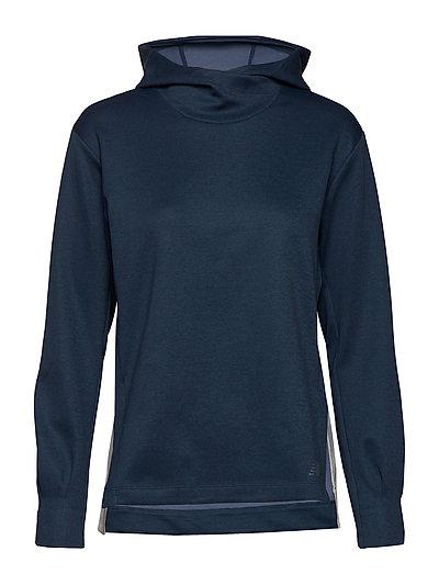Q Speed Run Crew Sweatshirt Hoodie Pullover Blau NEW BALANCE