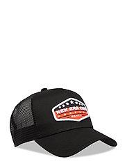 NE CAP PATCH TRUCKR NEWERA - ORGBLKWHI