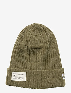RIBBED NYC PATCH CUFF NE - beanies - nov