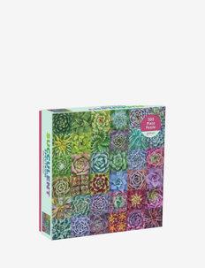 Succulent Spectrum 500 Piece Puzzle - kodinsisustus - multicolor