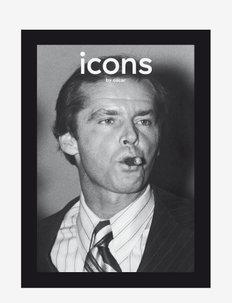 Icons by Oscar - bøker - black