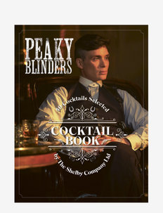 Peaky Blinders Cocktail Book - bøker - brown