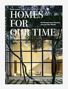 Homes for Our Time 40 Series - bøker - black/beige
