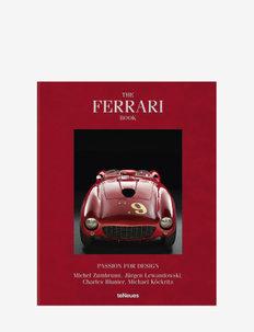 The Ferrari Book - interiør - red