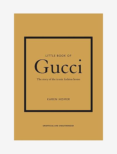 Little Book of Gucci - interiör - gold