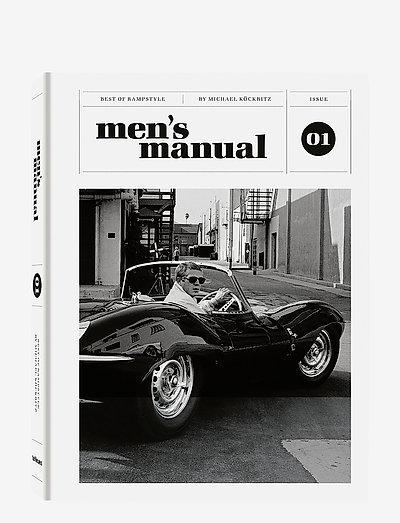 Men's Manual - böcker - grey/white
