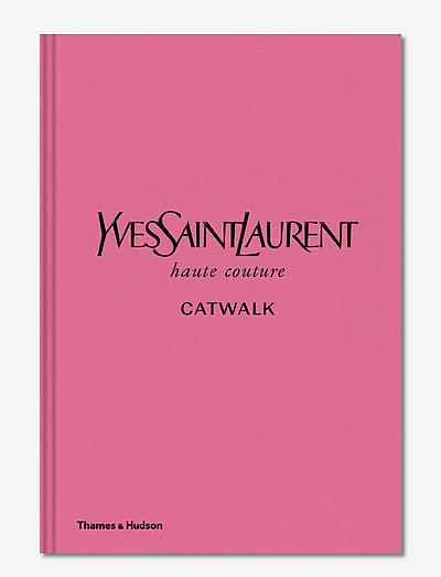 Yves Saint Laurent Catwalk - böcker - pink