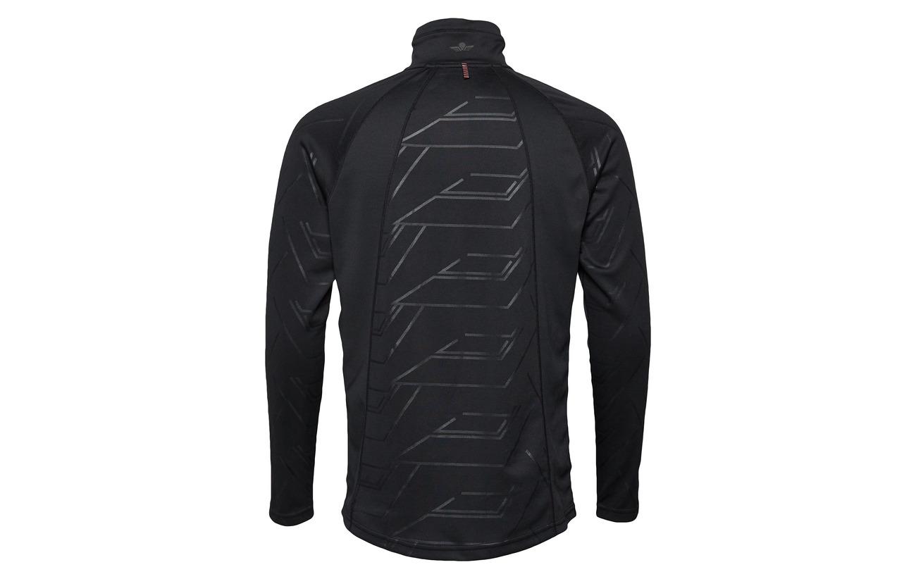 100 Équipement Polyester Warm Shirt Black Newline Jumpmaster HC1qw