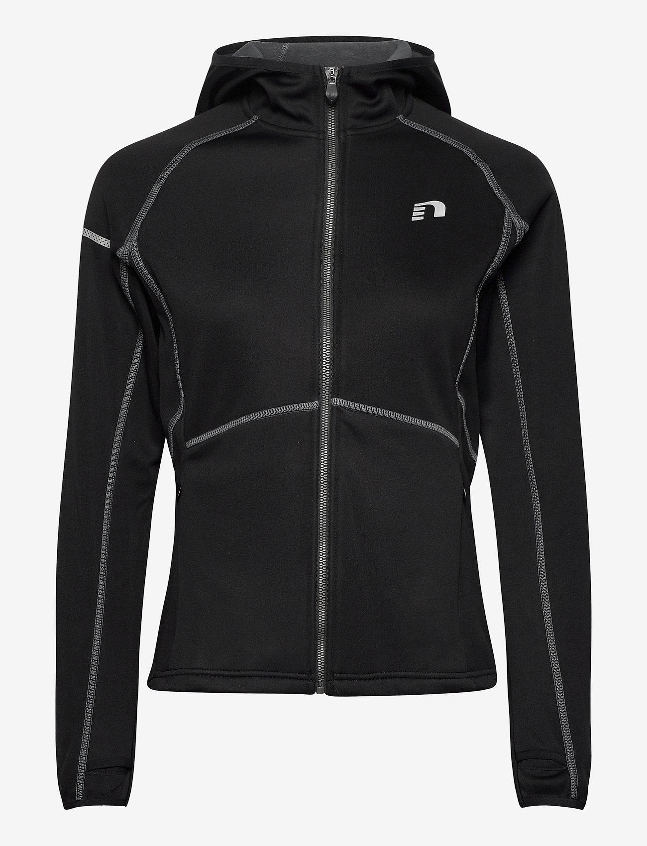 Newline - Base Warm Up Jacket - hoodies - black - 0