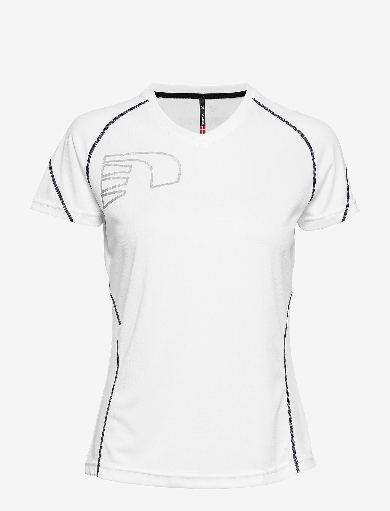 Newline - Core Coolskin Tee - t-shirty - white - 0